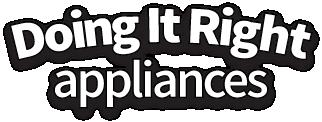 doing it right appliances logo